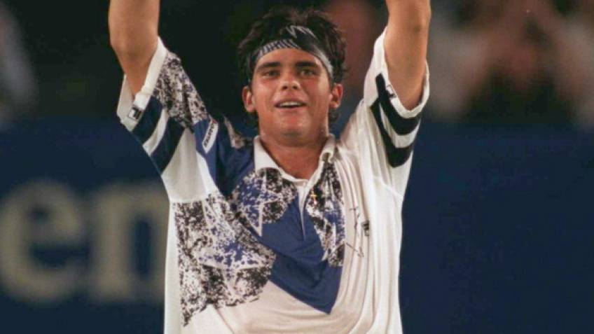 January 20, 1996: Mark Philippoussis stuns Pete Sampras on Rod Laver Arena