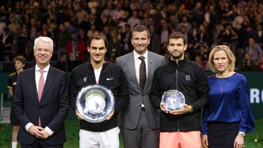 The Roger Federer effect: record attendance in Rotterdam