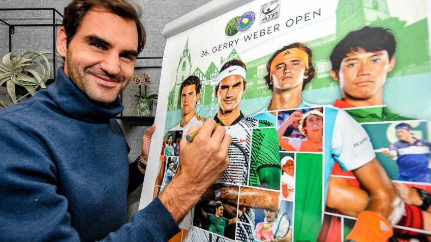 Roger Federer: 'Winning my 10th Halle title would be unique'