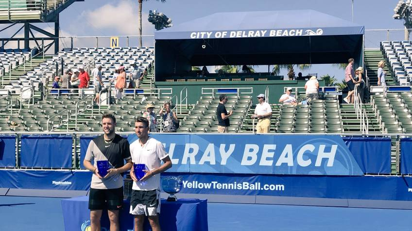 ATP Doubles: Jack Sock and Jackson Withrow win it all in Delray Beach