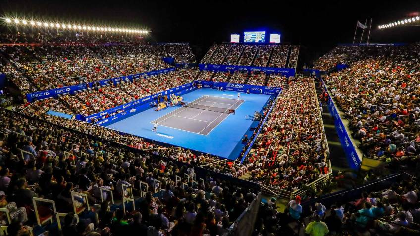 Acapulco is the slowest ATP 500 hard-court event. While the fastest...