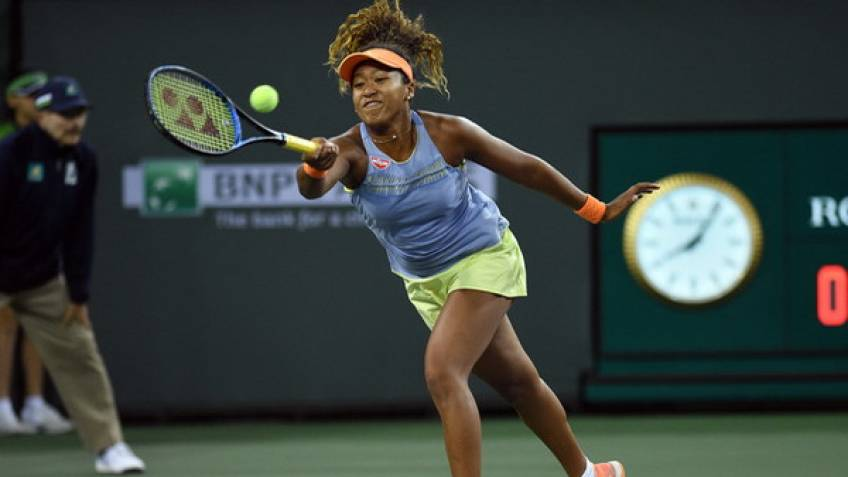 Serena Williams makes winning return to WTA Tour at Indian Wells