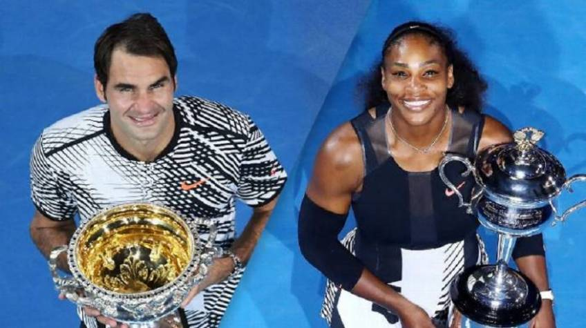 Who would win in a match between Roger Federer and Serena Williams?