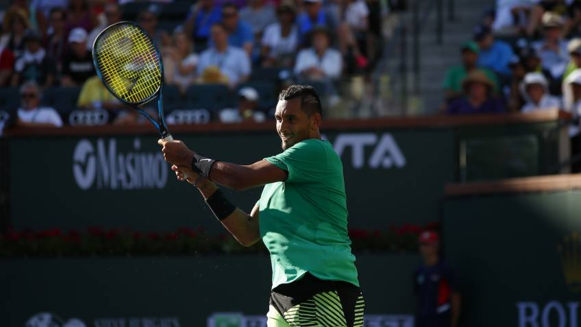 Nick Kyrgios pulls out of Indian Wells