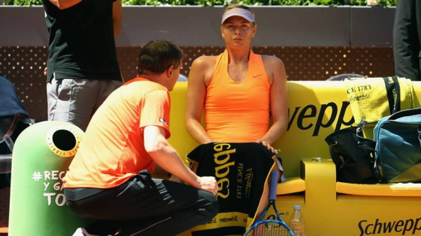 Maria Sharapova part ways with coach Sven Groeneveld