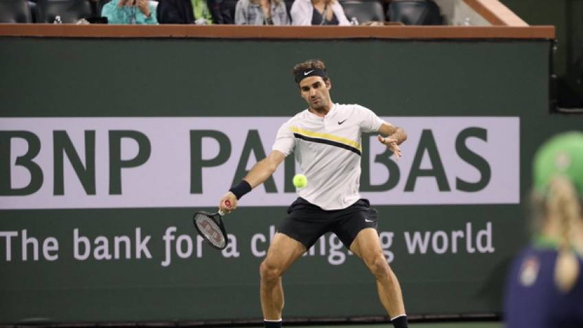 Swiss star Federer showing no signs of slowing — Tennis