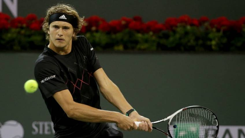 ATP Indian Wells: Zverev suffers another blow. Del Potro and Cilic march on