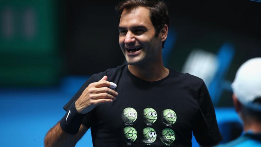 'Hey Roger Federer, are tennis balls green or yellow?'