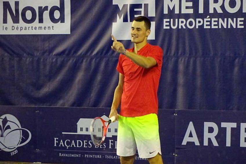 Bernard Tomic loses to world number 251 in Lille Challenger