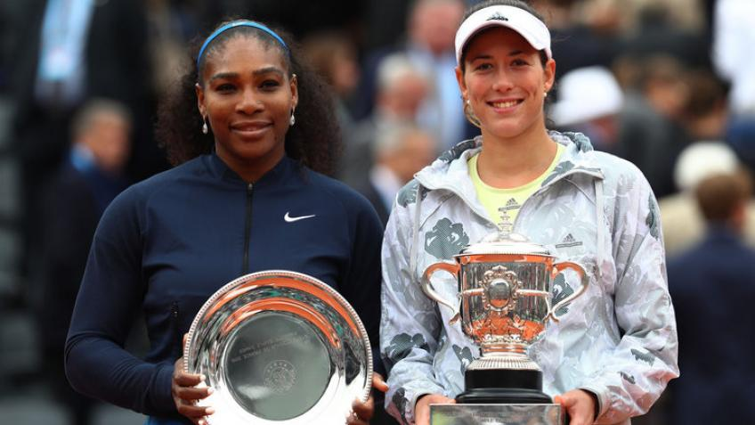 Garbine Muguruza says Serena Williams is still among the best players