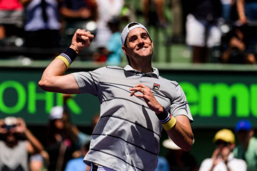 John Isner: 'Going to college makes you a better person and player'
