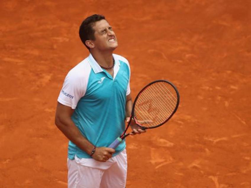 Nicolas Almagro unsure when he will return to action