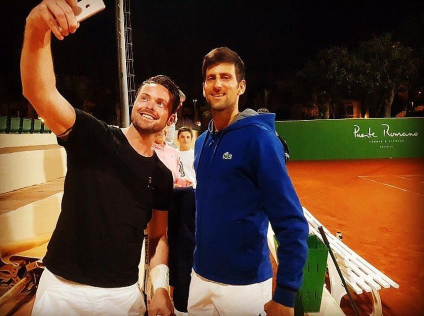 Coachless Novak Djokovic Trains With His Brother Photos And Videos
