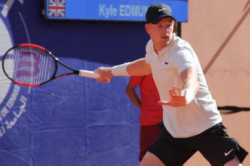 Kyle Edmund denied first ATP Tour title by Pablo Andujar