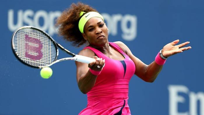 US Open - Serena Williams does not lose a game in fourth round match