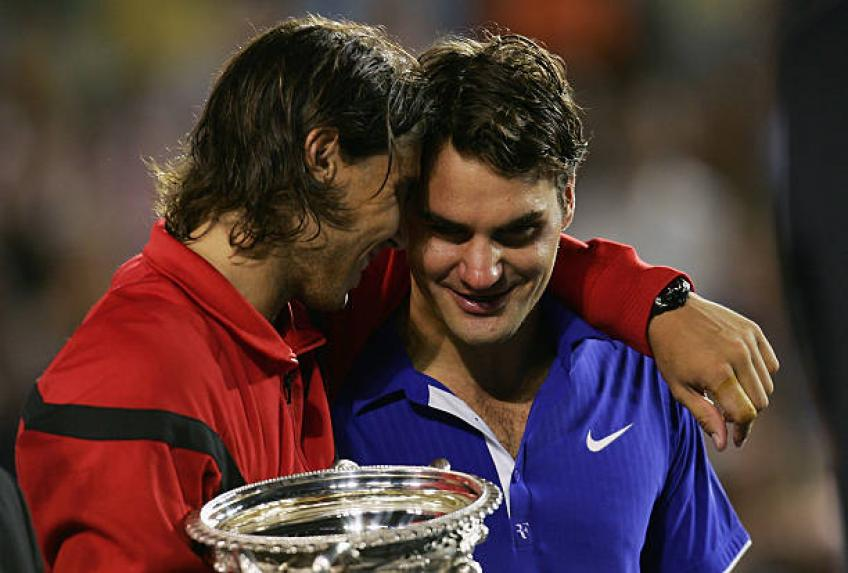 Roger Federer thinks Nadal can still beat his Grand Slam titles record