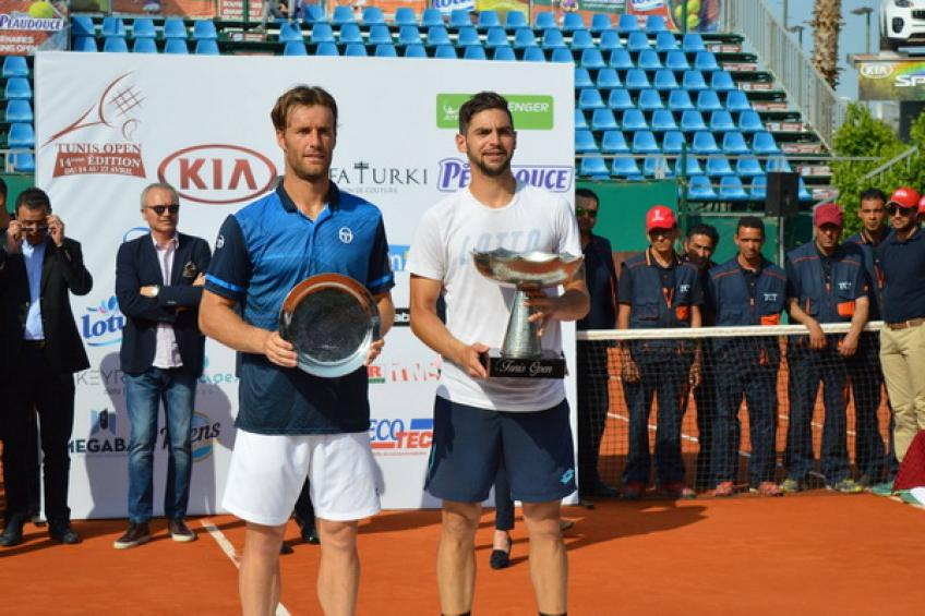 Hugo Dellien wins first title for Bolivia in 35 years. Halys tops Hemery