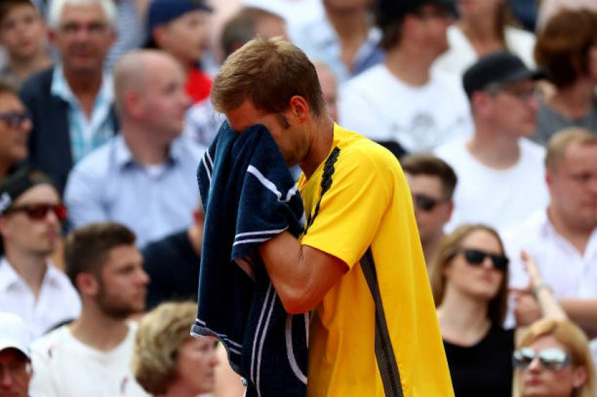 Florian Mayer announces sad news on his career