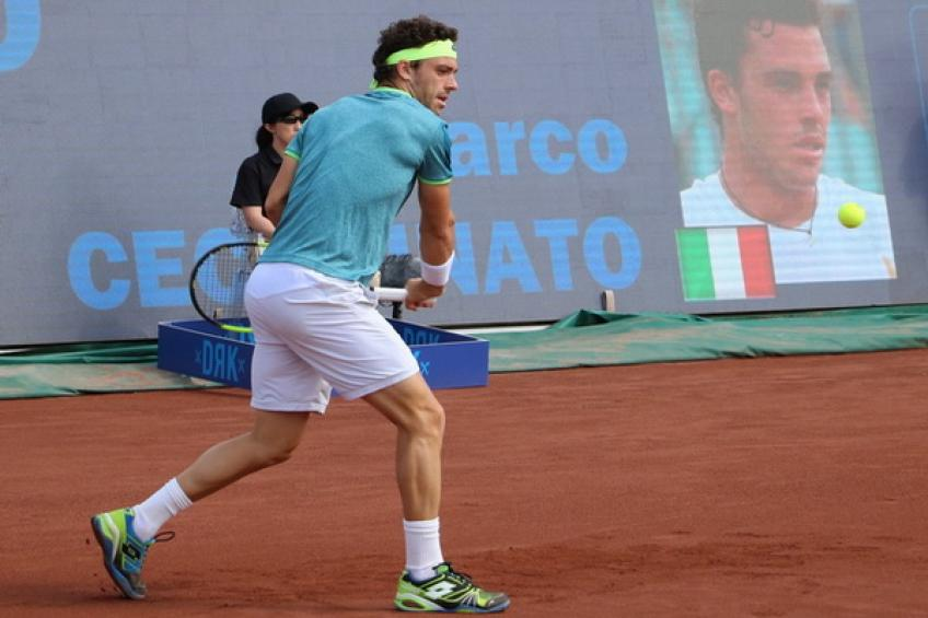 Lucky loser Cecchinato wins title in Hungary