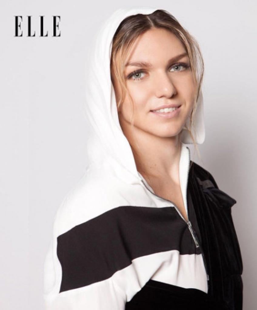 Simona Halep Graces The Cover Of Elle Magazine