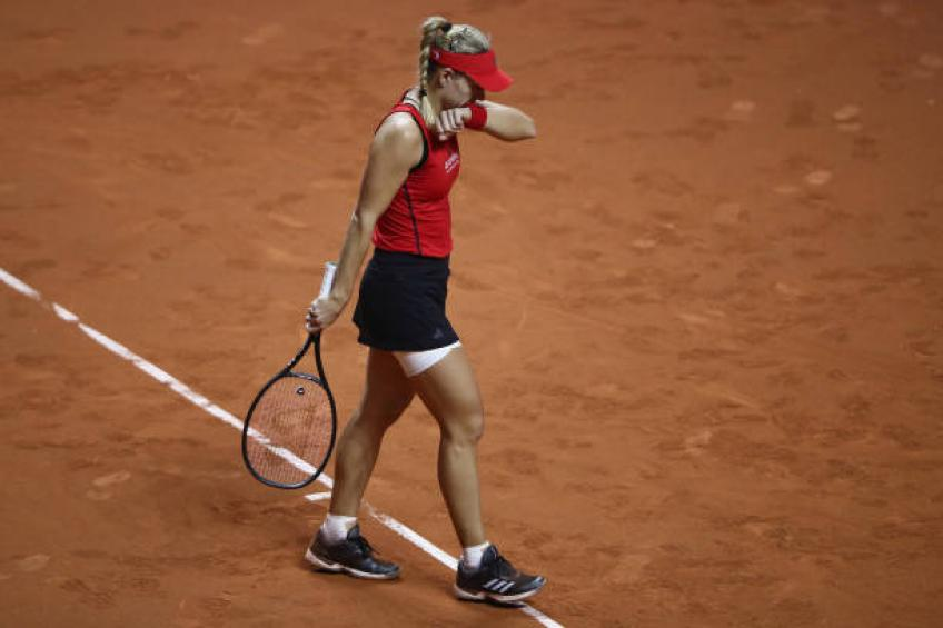 Angelique Kerber withdraws from the Mutua Madrid Open