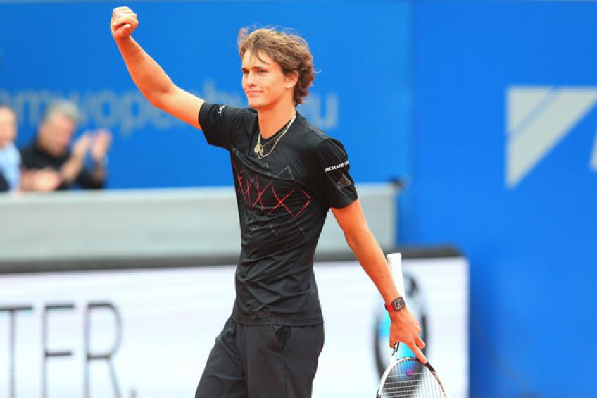 Alexander Zverev defeats Kohlschreiber in all-German final