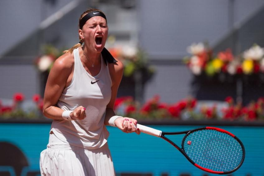 Halep too strong for Mertens in Madrid