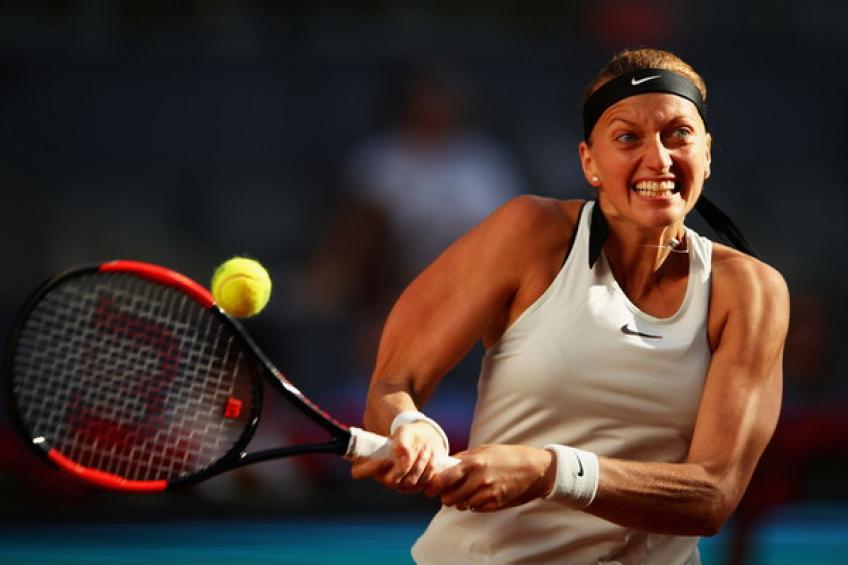 WTA Madrid: Petra Kvitova dismantles Daria Kasatkina for ninth win in a row