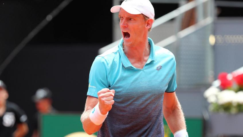 Kevin Anderson motivated to keep working hard after new career-high ranking