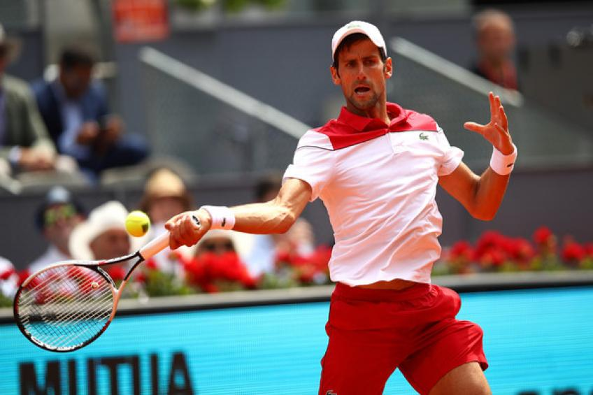 ATP Rome: Novak Djokovic makes strong start. Nishikori and Bedene win
