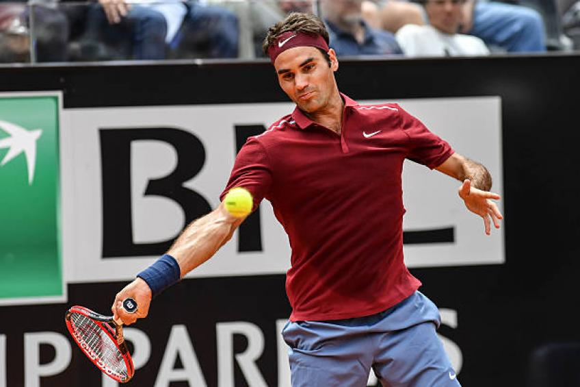 Roger Federer leads this statistic list at the Rome Open