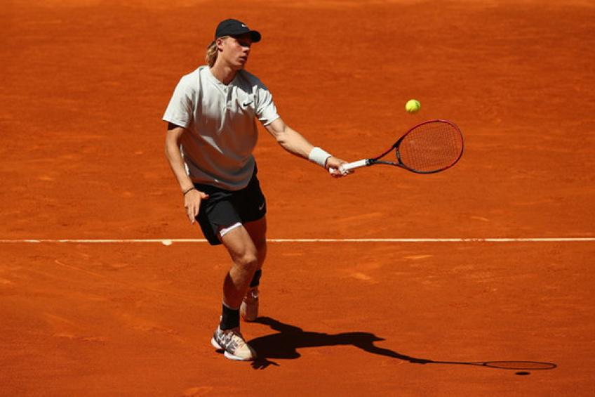 ATP Rome: Shapovalov edges Berdych. Pouille escapes defeat against Seppi