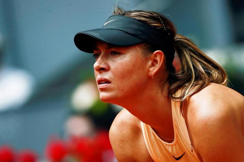 Maria Sharapova: 'I asked Nadal to hit balls, not to go on a date'