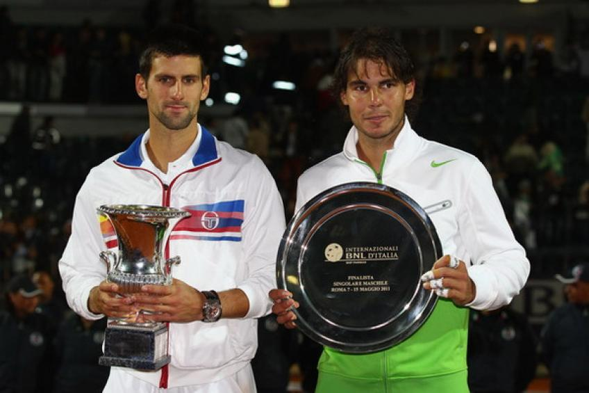 May 15, 2011: Novak Djokovic rolls past Rafael Nadal for a 39-0 start!