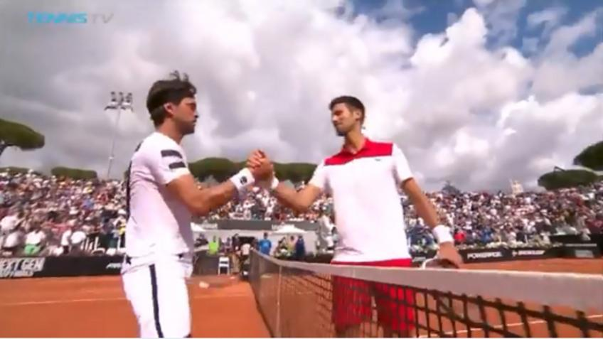 Djokovic vs Basilashvili MATCH POINT