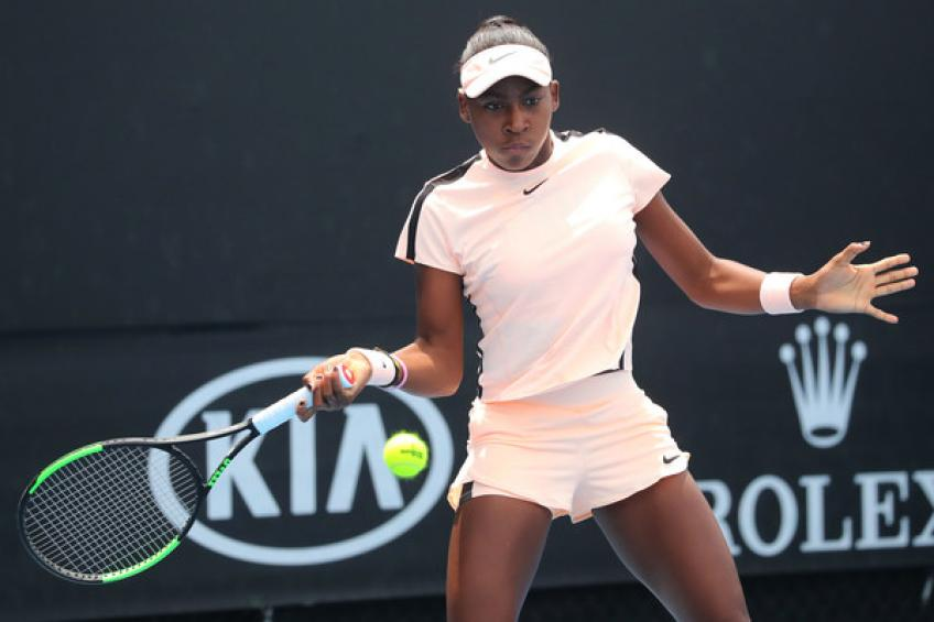 14-year-old Cori Gauff sets another milestone in her GOAT quest!