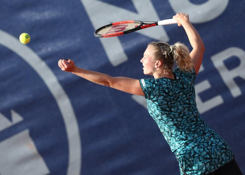WTA NURNBERG - Katerina Siniakova will meet Johanna Larsson in the semis