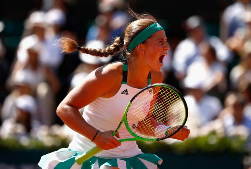 Defending champion Jelena Ostapenko knocked out of French Open