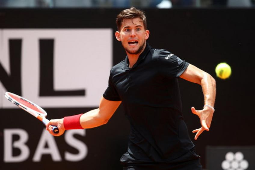 ATP Lyon: Thiem overcomes a slow start against Simon for 10th ATP title