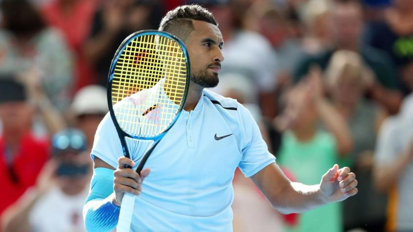Nick Kyrgios was doing all he could in order to be ready for French Open