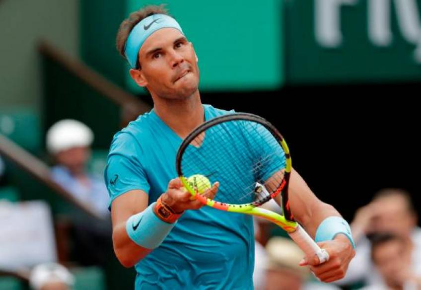 Top seed Rafael Nadal cruises into round three