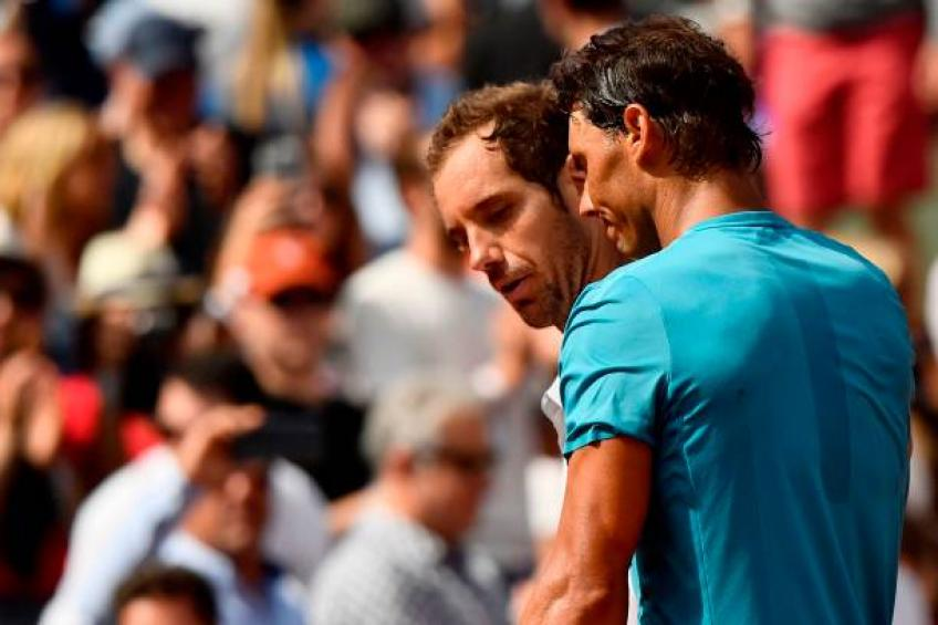 Nadal loses first French Open set for three years