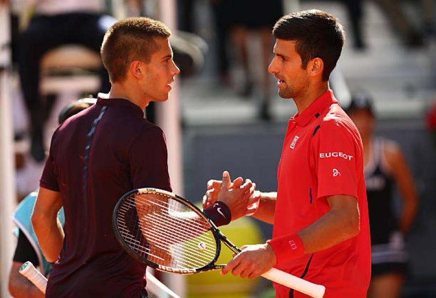 Borna Coric clarifies on controversial quotes about Novak Djokovic