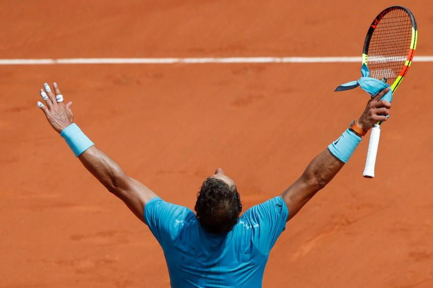 Dominic Thiem hails 'awesome' King of Clay Nadal after French Open defeat