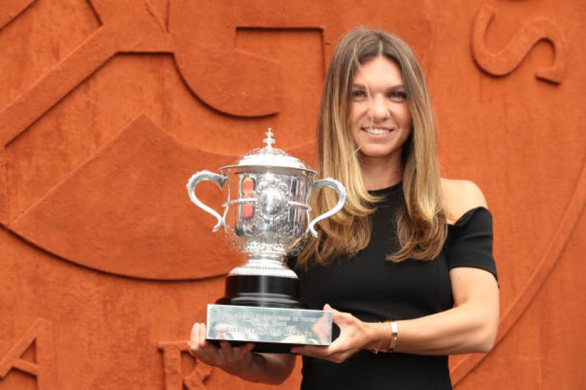 Simona Halep: 'If you don't give up, you are able to do anything'