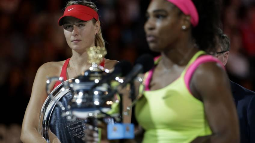 It was great for Serena Williams not to play Sharapova, says her coach