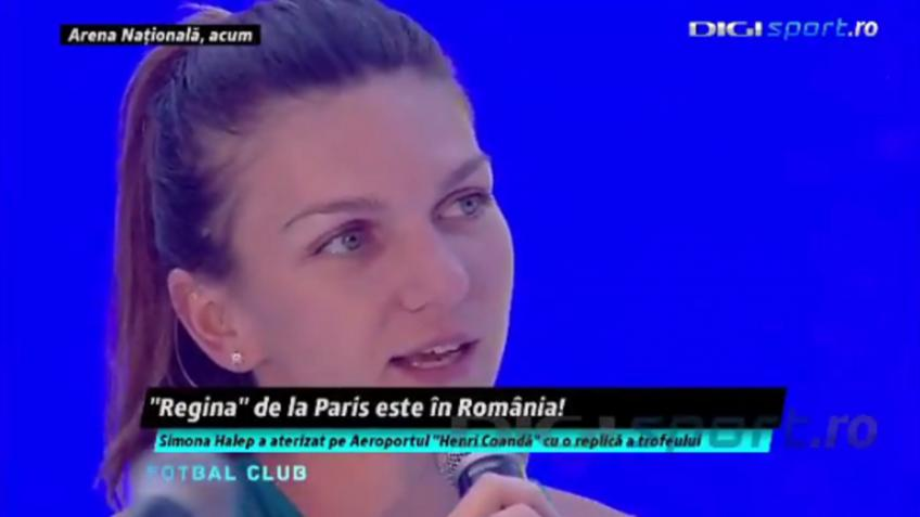 Simona Halep gets crazy welcome in Bucharest: 15,000 people were there!
