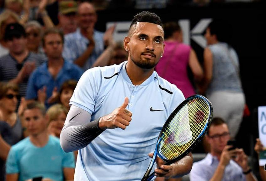 Struggling Kyrgios scratches out Stuttgart grass win