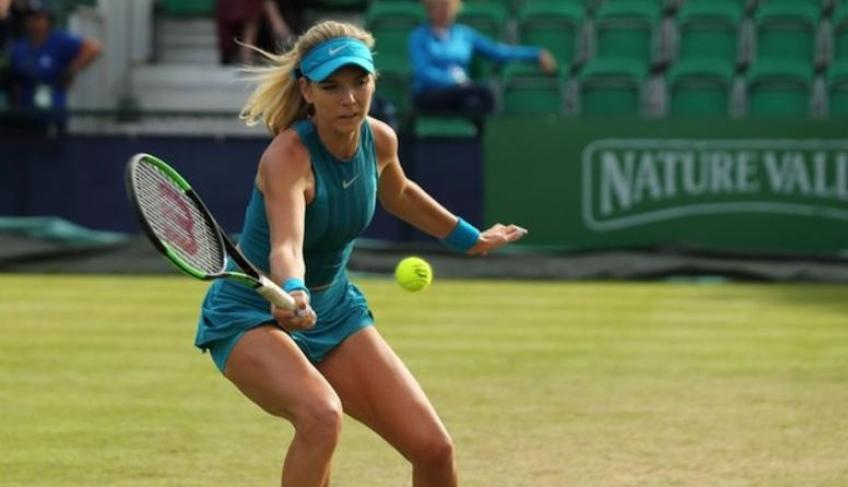 Katie Boulter knocks out Samantha Stosur of Nottingham Open