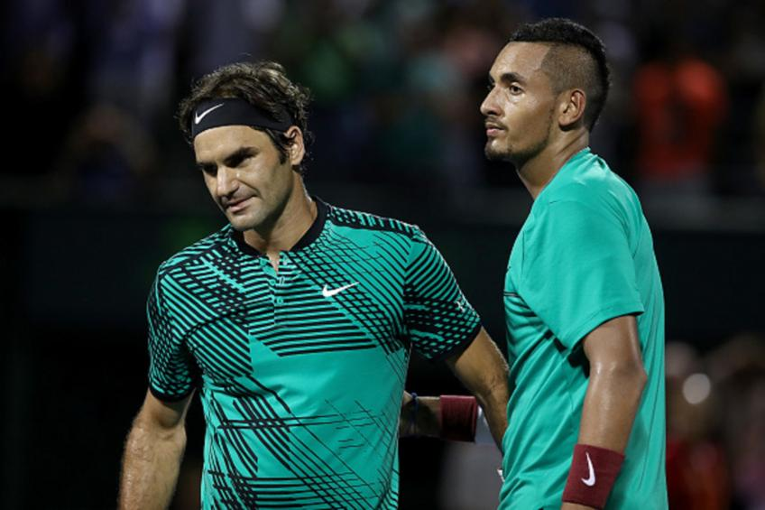 ATP Stuttgart- Saturday Schedule Federer to face Kyrgios